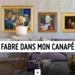 Communiqué de presse : «Fabre dans mon canapé» : de nombreux contenus numériques pour accéder en un clic aux collections du musée Fabre
