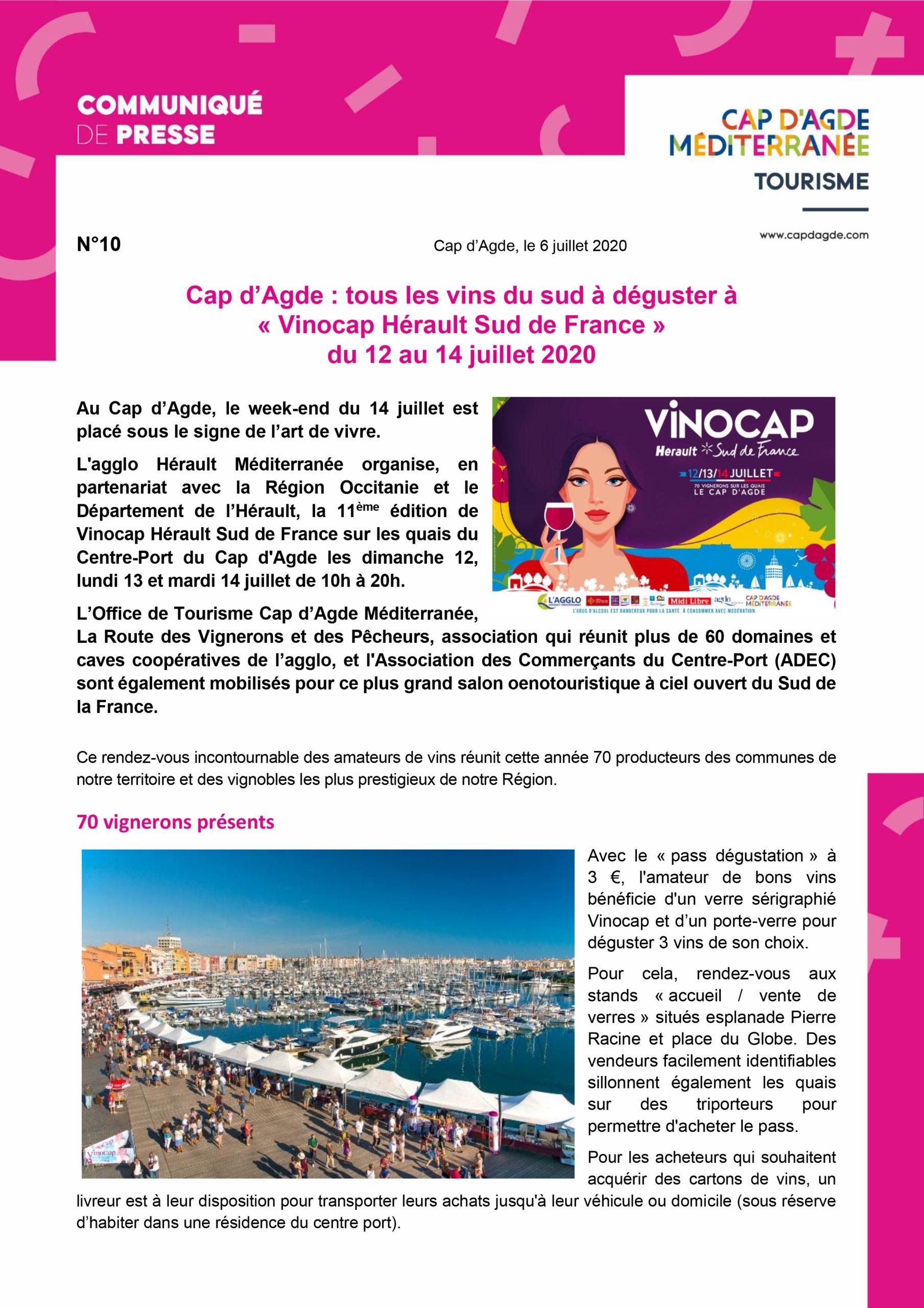 Cap d'Agde : VINOCAP