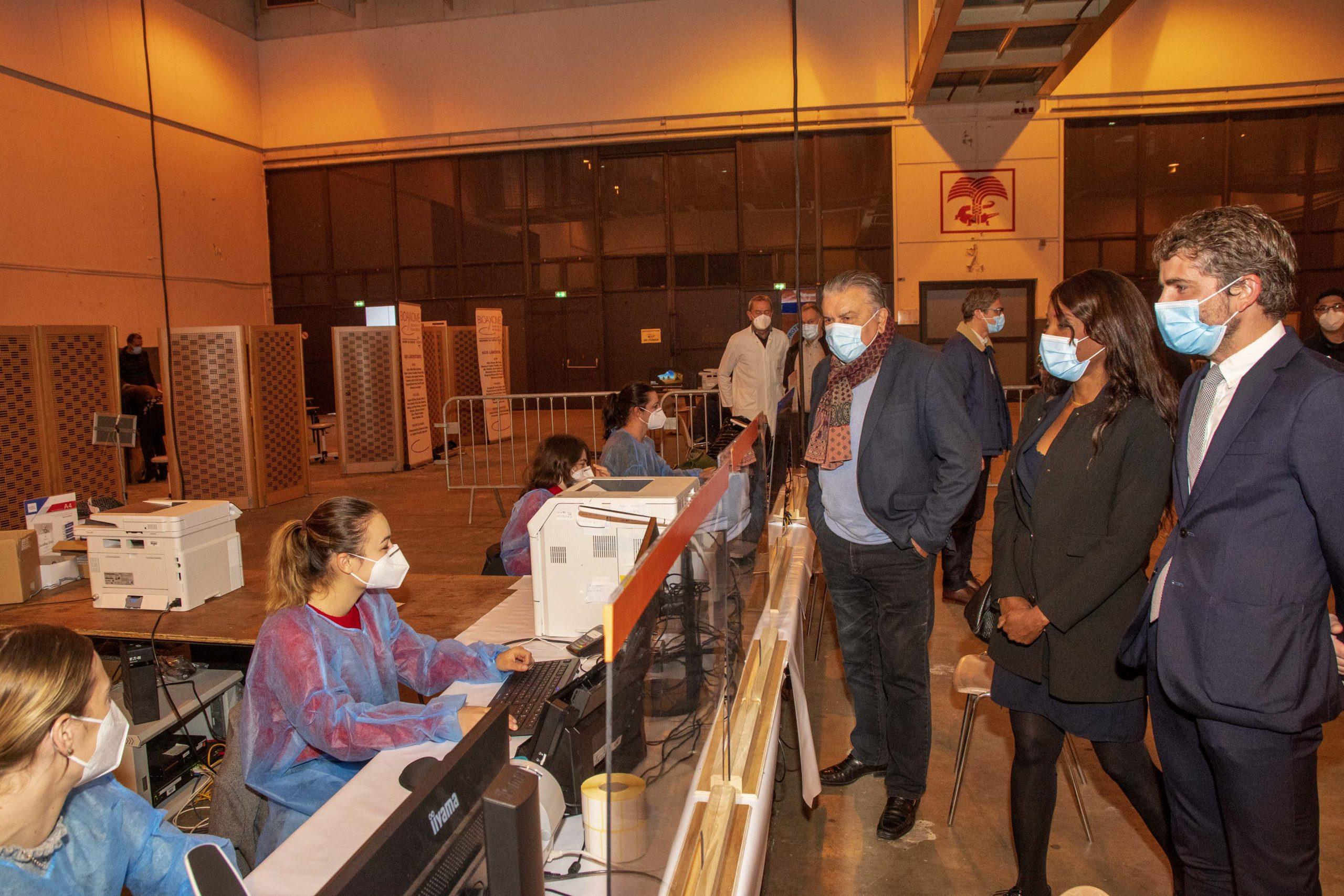 Communiqué de Presse – La Ville améliore la capacité de dépistage de la Covid-19 sur Nîmes avec l'ouverture d'un nouveau centre
