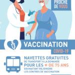 CP – La Ville accompagne la campagne de vaccination