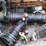 COMMUNIQUE DE PRESSE – Raccordement de la nouvelle STEP sur l'émissaire de rejet des eaux usées traitées