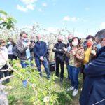 Gel / Agriculture – Carole Delga : « En soutien à nos viticulteurs et arboriculteurs, la Région a adopté une première aide exceptionnelle de 5 M? »