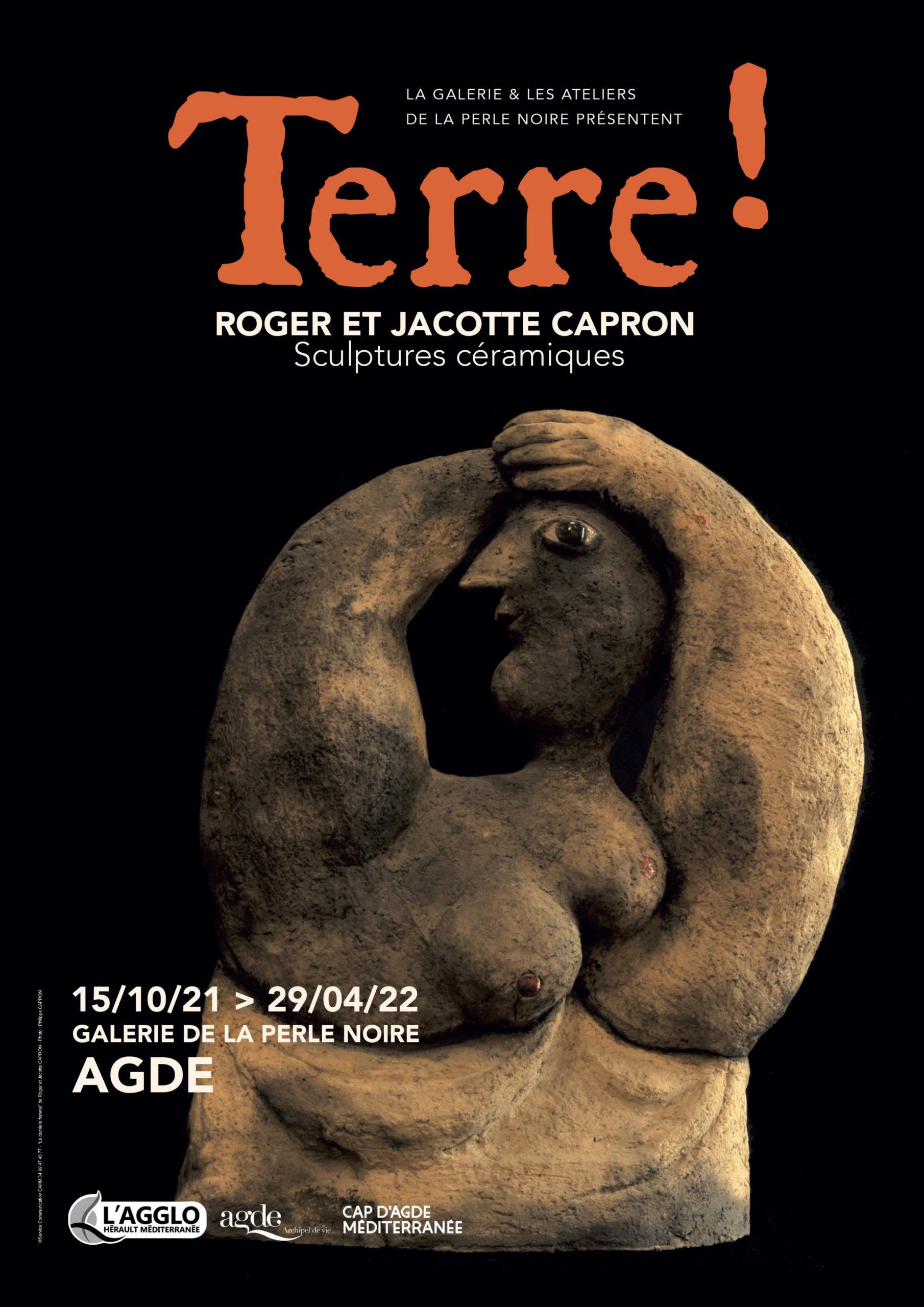 AGDE: Exposition «TERRE!»à la Galerie de la Perle Noire du 15 octobre 2021 au 29 avril 2022